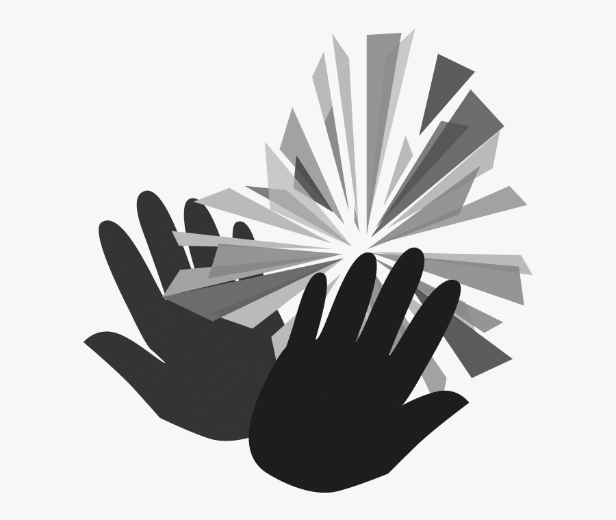 Black And White Church Bulletin, Transparent Clipart