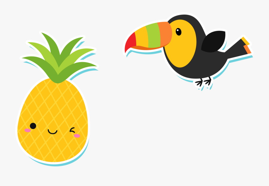 Mycutelobster - Cute Pineapple Clip Art , Free Transparent ...