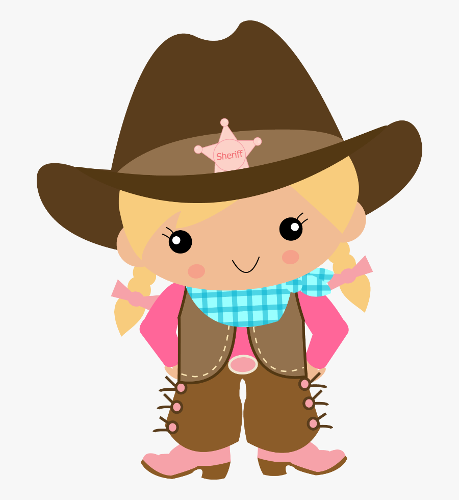 Cowboy And Free Download - Cowboy And Cowgirl Clipart, Transparent Clipart