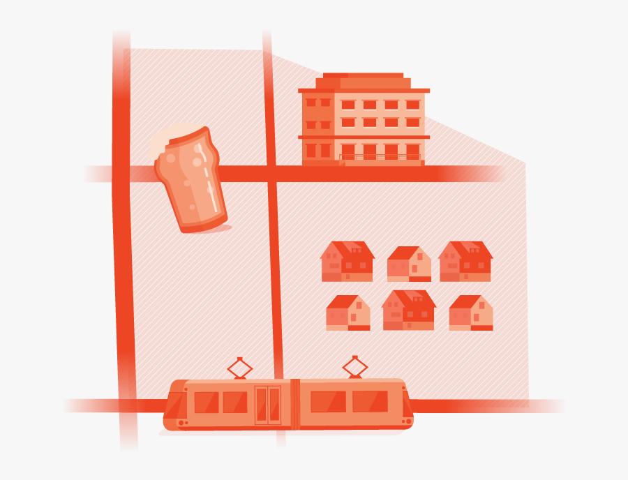 Apartment Clipart Corporation Building - Illustration, Transparent Clipart