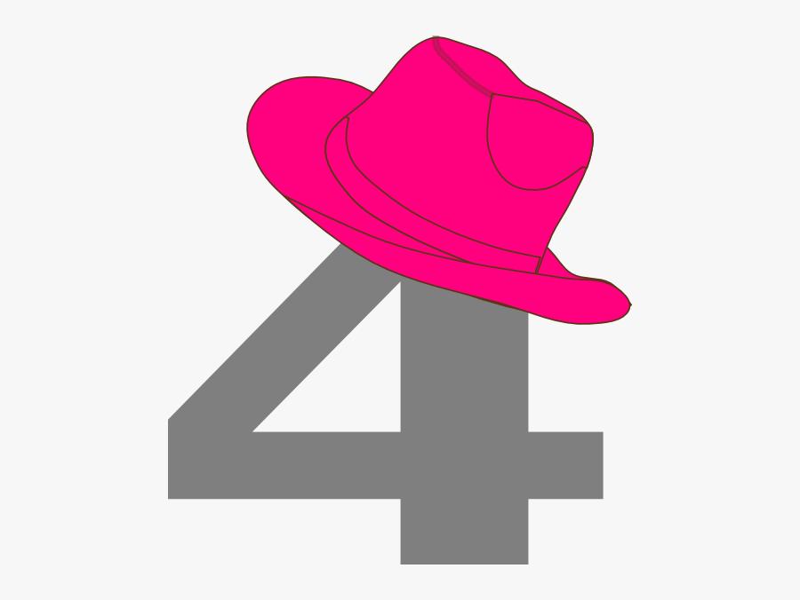 2 With Cowboy Hat Clip Art, Transparent Clipart