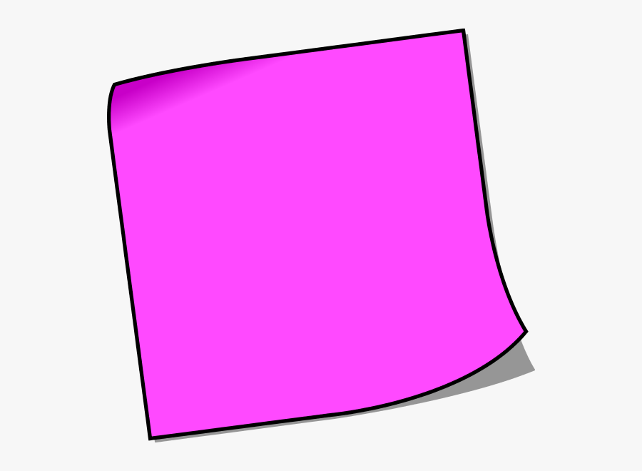 Sticky Note Post It Notes Clipart Free Images - Clip Art Post It Notes, Transparent Clipart