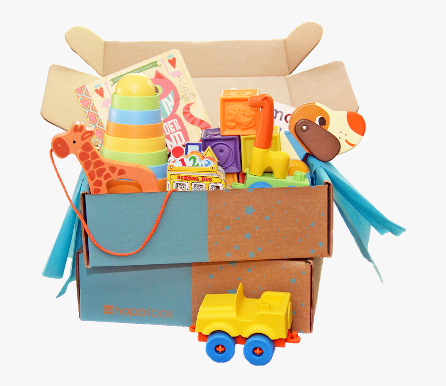 Toy Box Png - Baby Products Box, Transparent Clipart