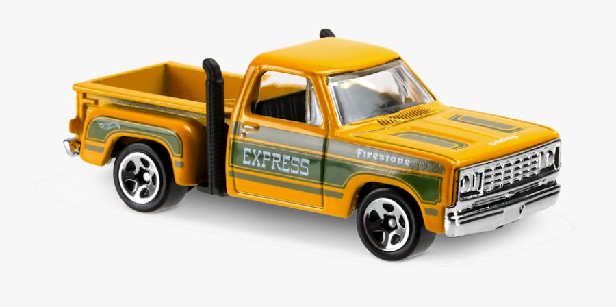 Hot Wheels 1978 Dodge Lil Red Express Truck, Transparent Clipart