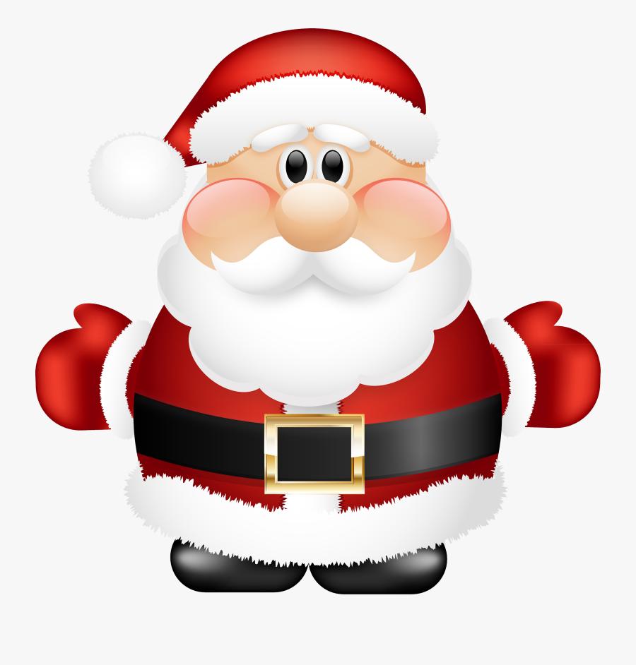 Santa Claus Clipart Transparent Background , Transparent - Santa Claus Navidad Png, Transparent Clipart
