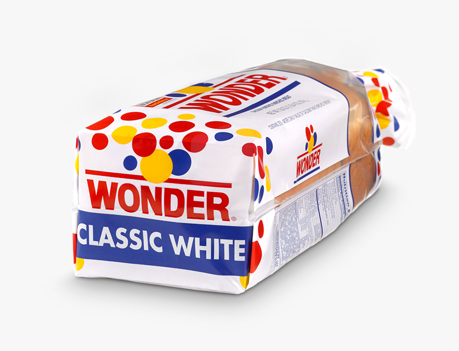 Wonder Bread Clipart For Your App - Wonder Bread Classic White, Transparent Clipart