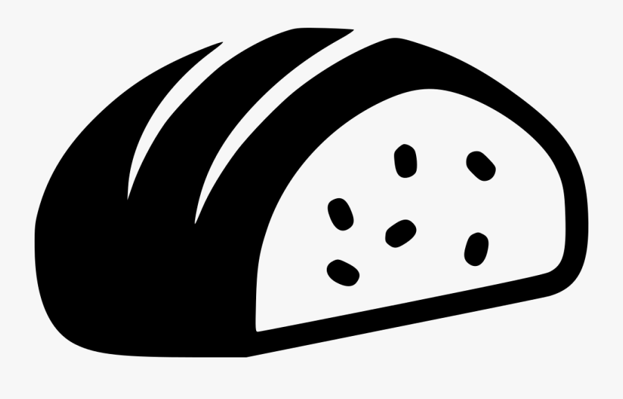 Sliced Loaf Of Bread - Loaf Of Bread Image Icon, Transparent Clipart
