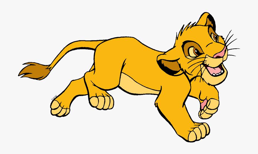 Young Simba Clip Art - Lion King Simba Young, Transparent Clipart