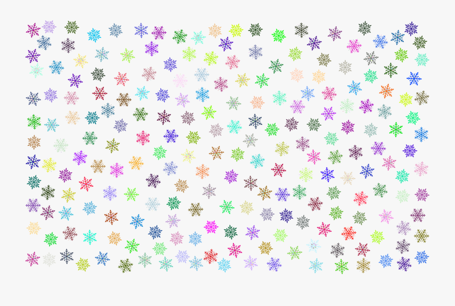 Flower,lilac,purple - Black And White Snowflake Pattern, Transparent Clipart