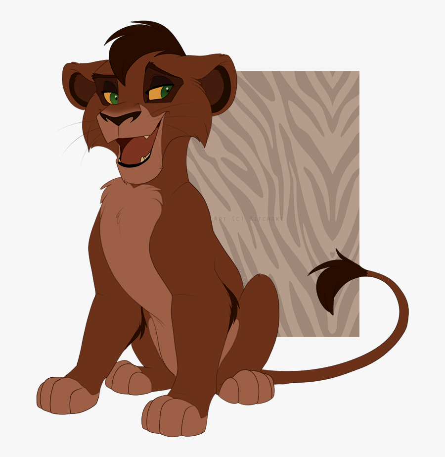 Kovu Lion King Movie, Lion King Fan Art, Disney Lion - Kovu The Lion King Fan Art, Transparent Clipart
