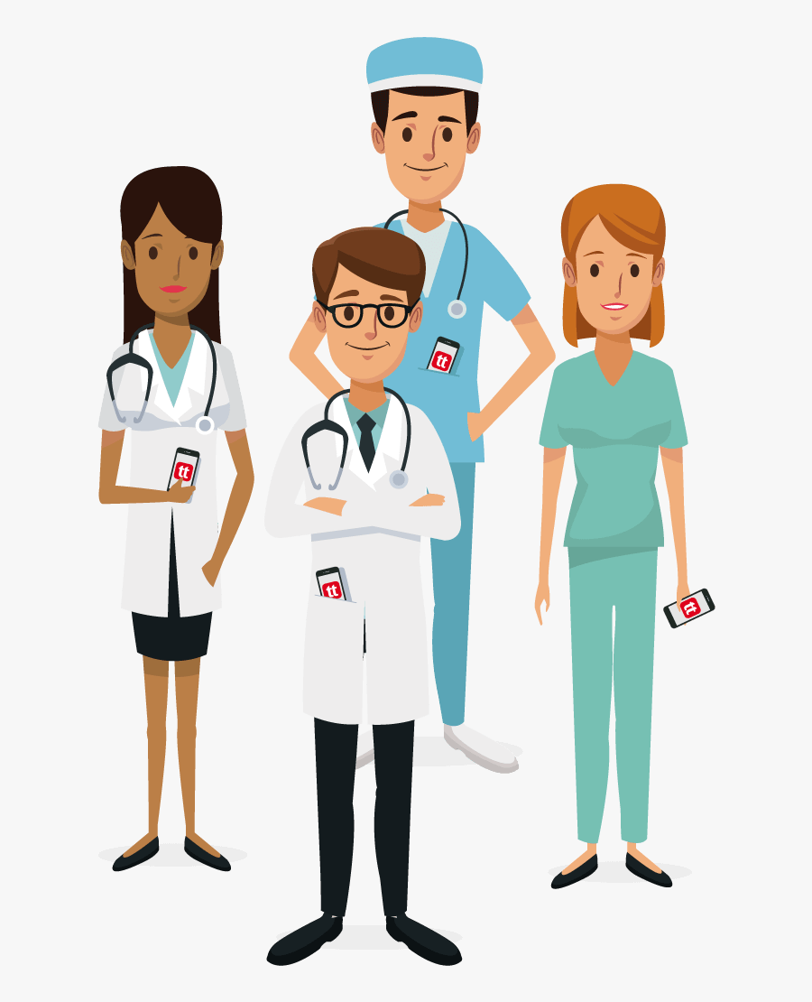 Because When Everyone Works Better Together, You Turn - Medical Team Clipart Transparent, Transparent Clipart