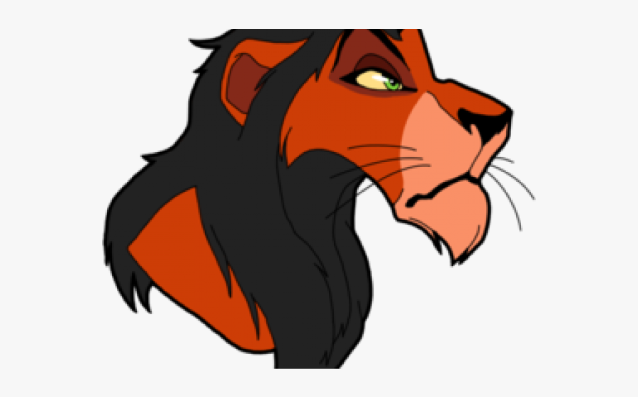The Lion King Clipart Svg - Scar From Lion King Clipart, Transparent Clipart
