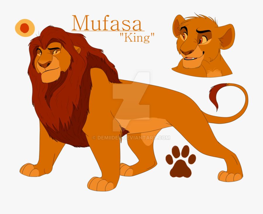 Mufasa Clipart Tlk - Lion King Mufasa Fanart, Transparent Clipart