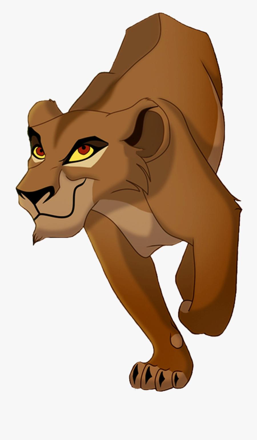 Lion King Png, Transparent Lion King Png Image Free - Zira The Lion King, Transparent Clipart