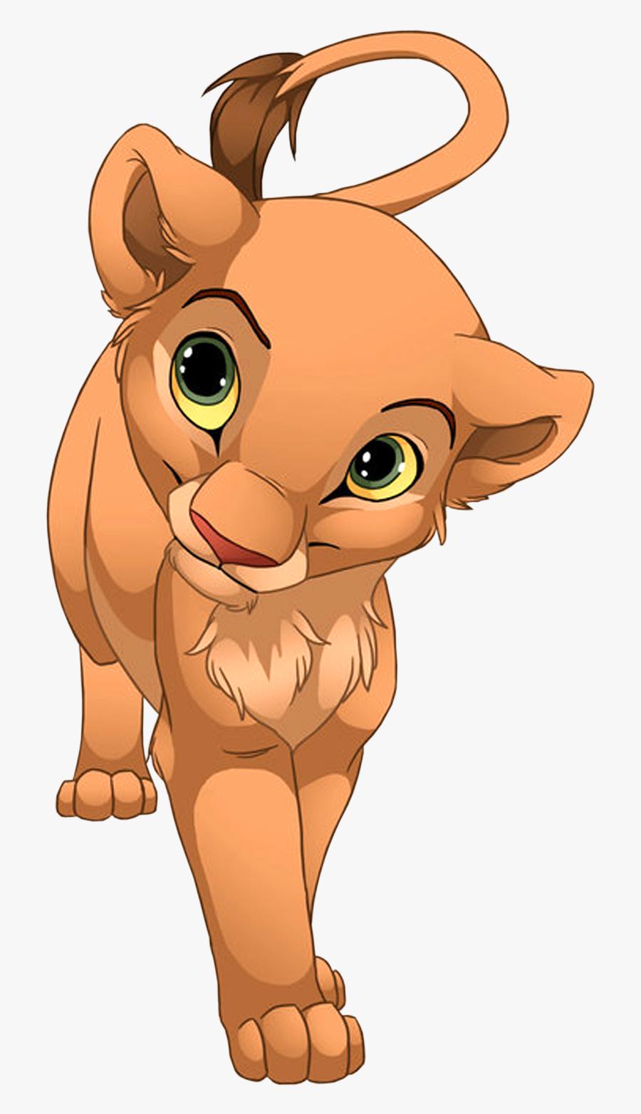 Lions Clipart Nose - Nala Lion King, Transparent Clipart