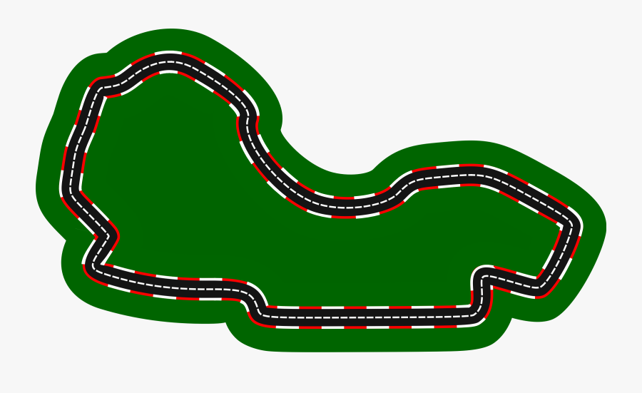 Clip Art Formula Auto Racing Australian - Race Car Track Drawing, Transparent Clipart