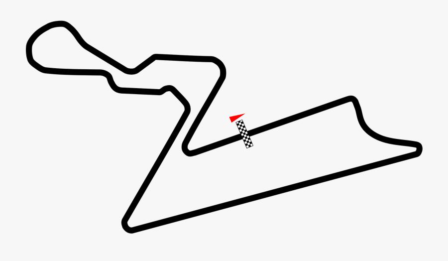 Track Clipart Vector - Formula 1 Track Png, Transparent Clipart