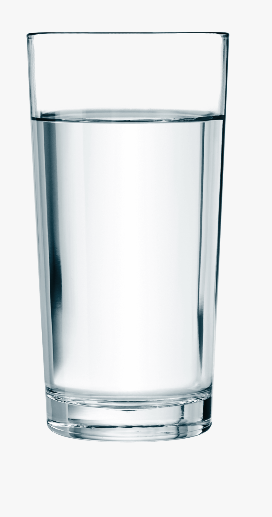 Cup Glass Drinking Water - Old Fashioned Glass, Transparent Clipart