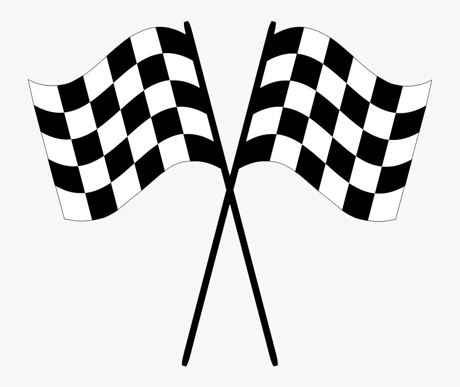 Transparent Race Track Png - Race Flag No Background, Transparent Clipart