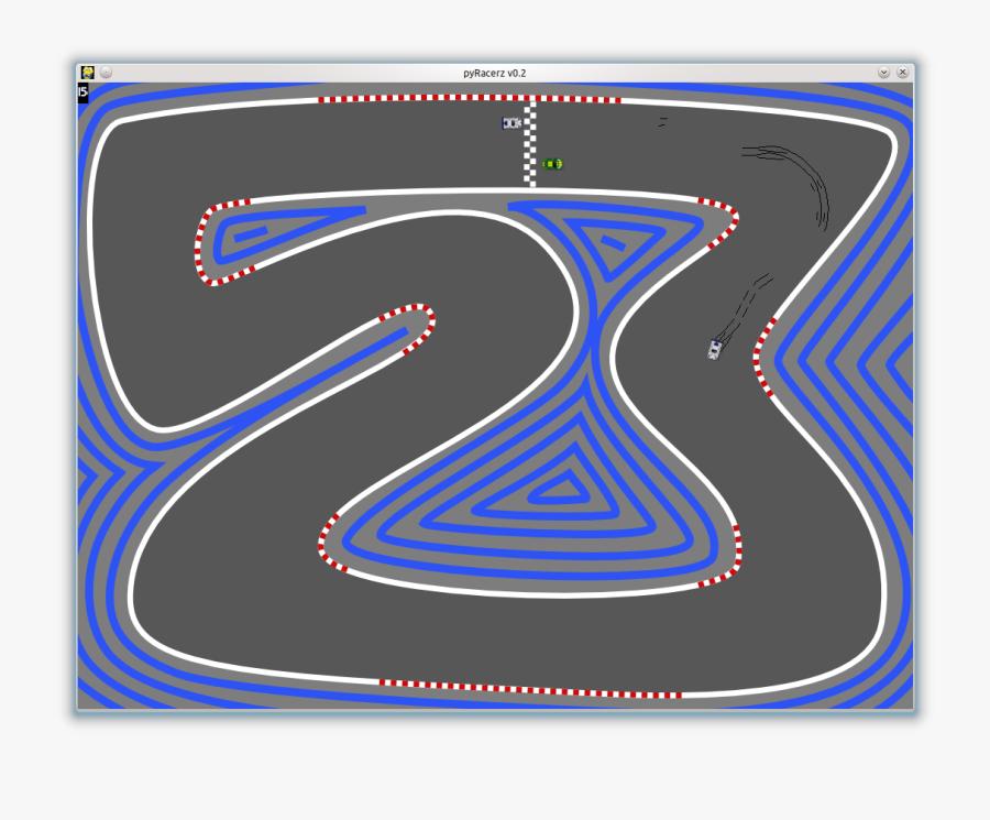 Clip Art Games On Linux Duskfire - 2d Race Track, Transparent Clipart