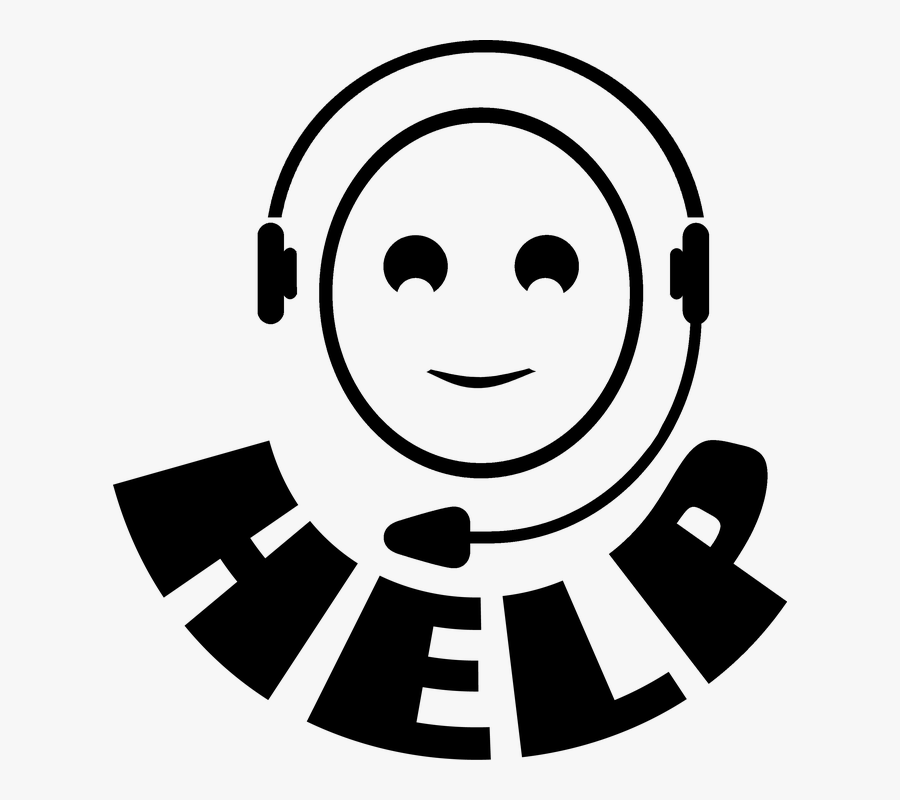 Support, Help, Call Center, Headset, Service - Ayuda Call Center, Transparent Clipart