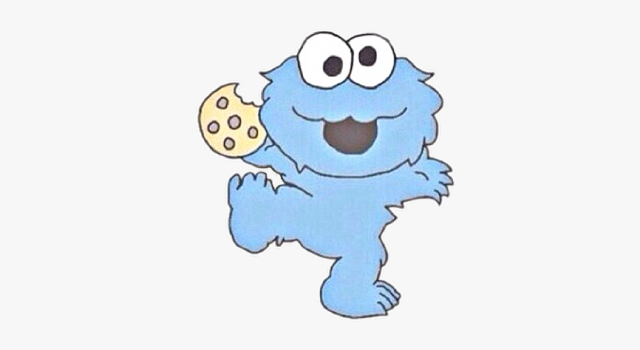 Baby Cookie Monster Transparent Free Transparent Clipart