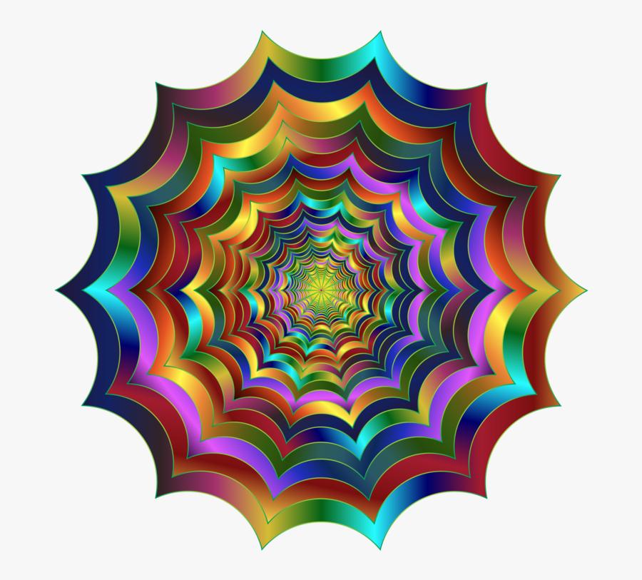 Symmetry,fractal Art,circle - Portable Network Graphics, Transparent Clipart