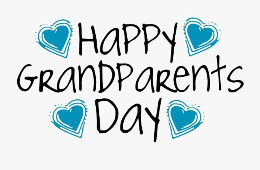 Transparent Grandparents Day 2015 Clipart - National Grandparents Day 2017, Transparent Clipart