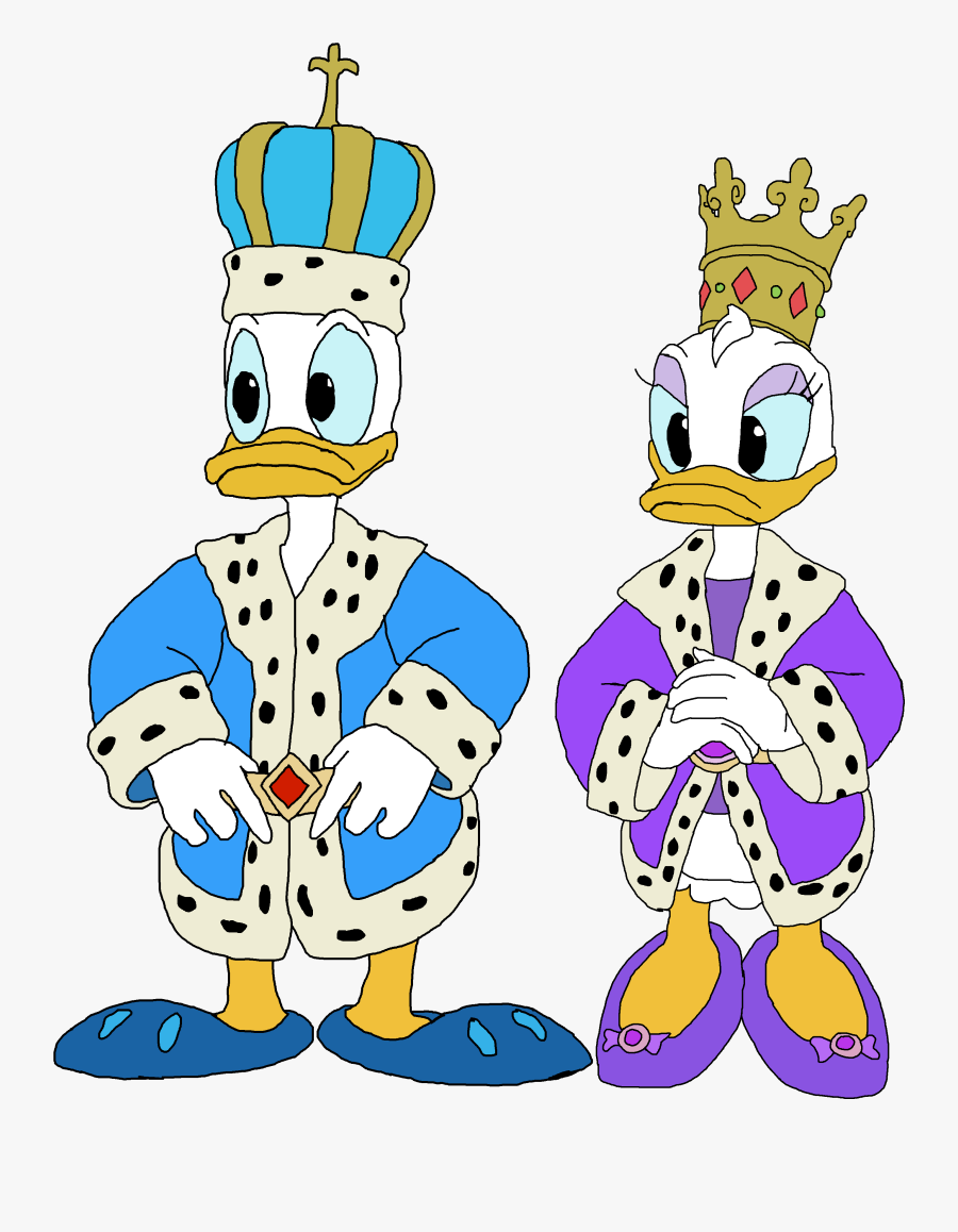 Transparent Mickey Mouse Clubhouse Png - Prince Mickey Mouse And Princess Minnie Mouse, Transparent Clipart