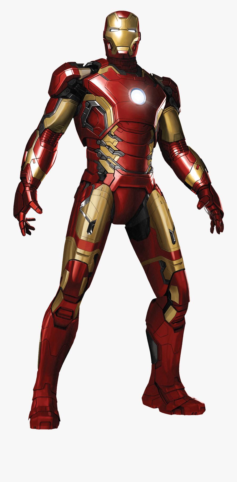 Iron Man Clipart Transparent Background - Avengers 2 Age Of Ultron Iron Man, Transparent Clipart