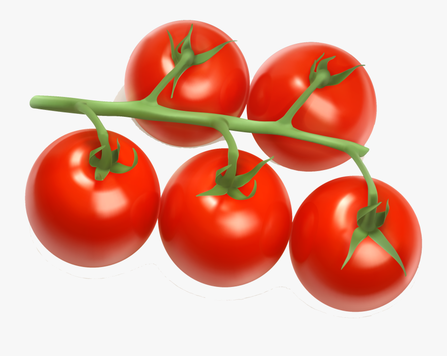Tomato Juice Cherry Tomato Clip Art - Transparent Background Cherry Tomatoes Png, Transparent Clipart
