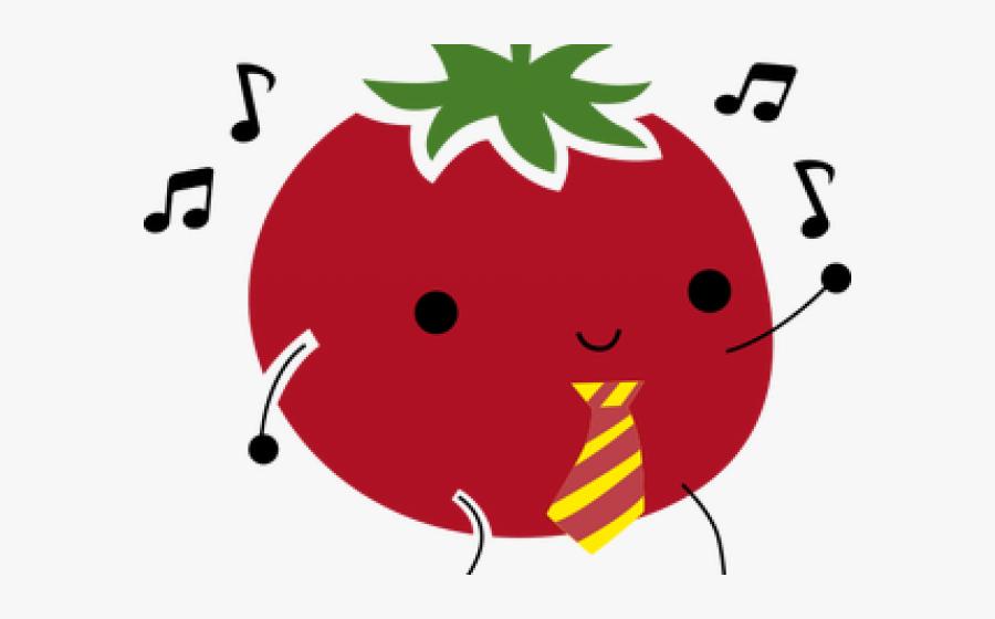 Tomato Clipart Dancing, Transparent Clipart