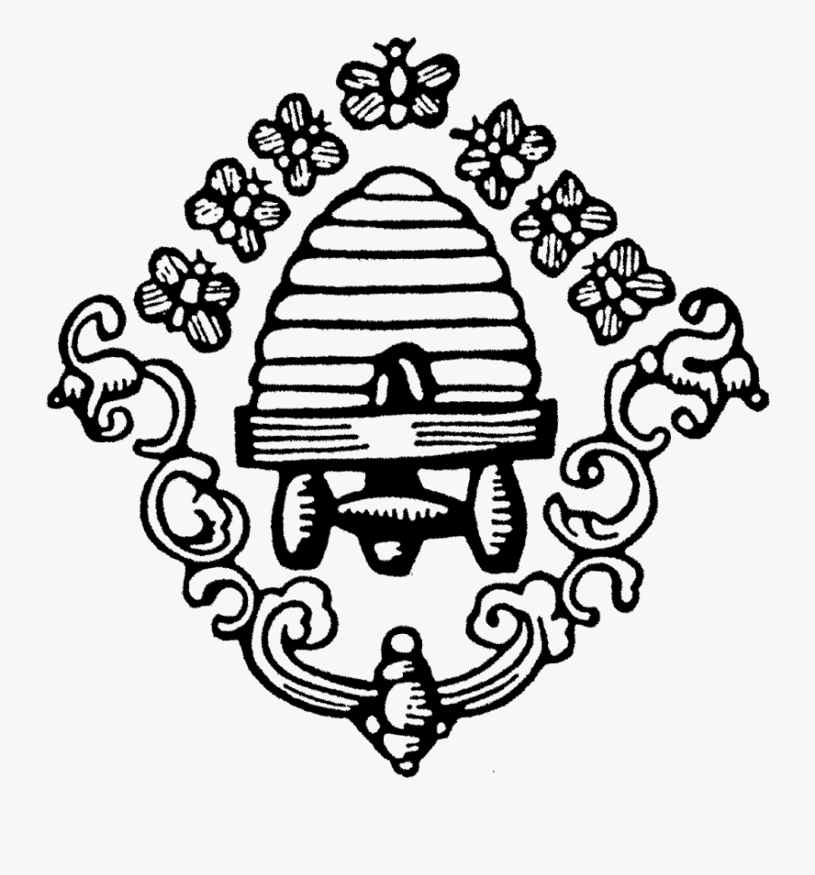 Transparent Bee Hive Clip Art - Black And White Bee Hive Clip Art, Transparent Clipart