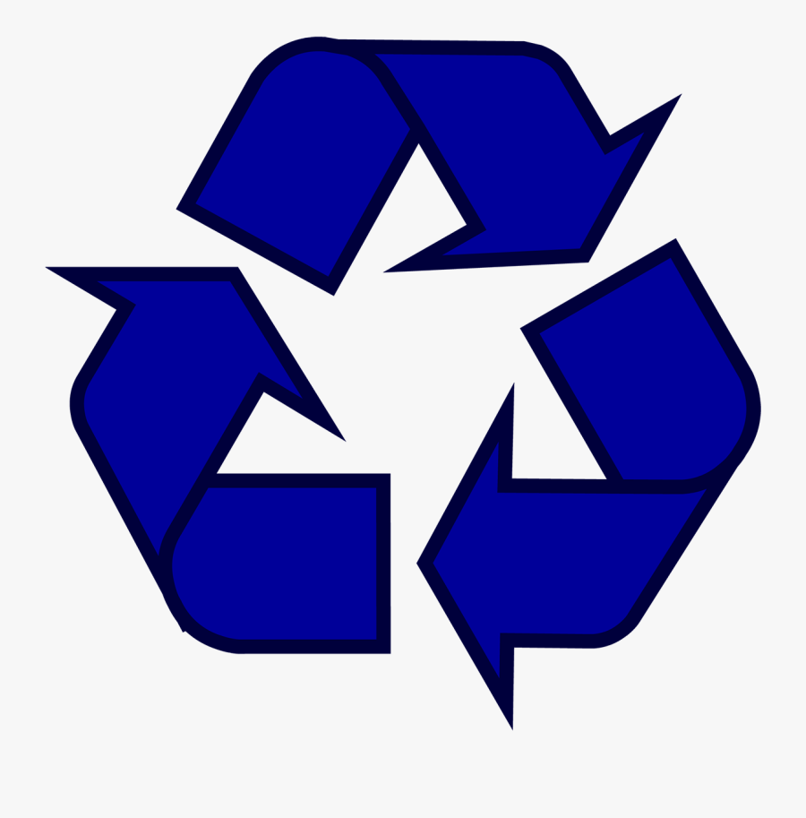 Recycling Symbol Icon Outline Sol - Pink Recycle Symbol, Transparent Clipart
