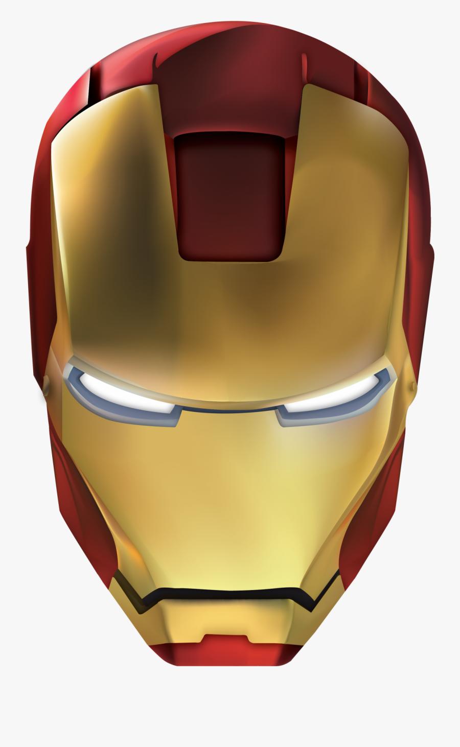Iron Man Helmet Png, Transparent Clipart