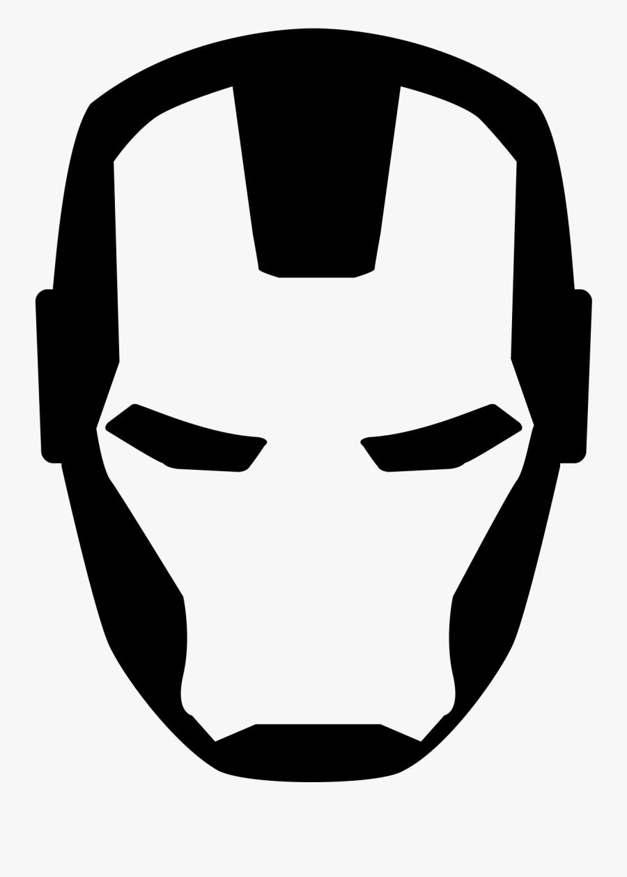 Iron Man Icon - Iron Man Vector Logo, Transparent Clipart
