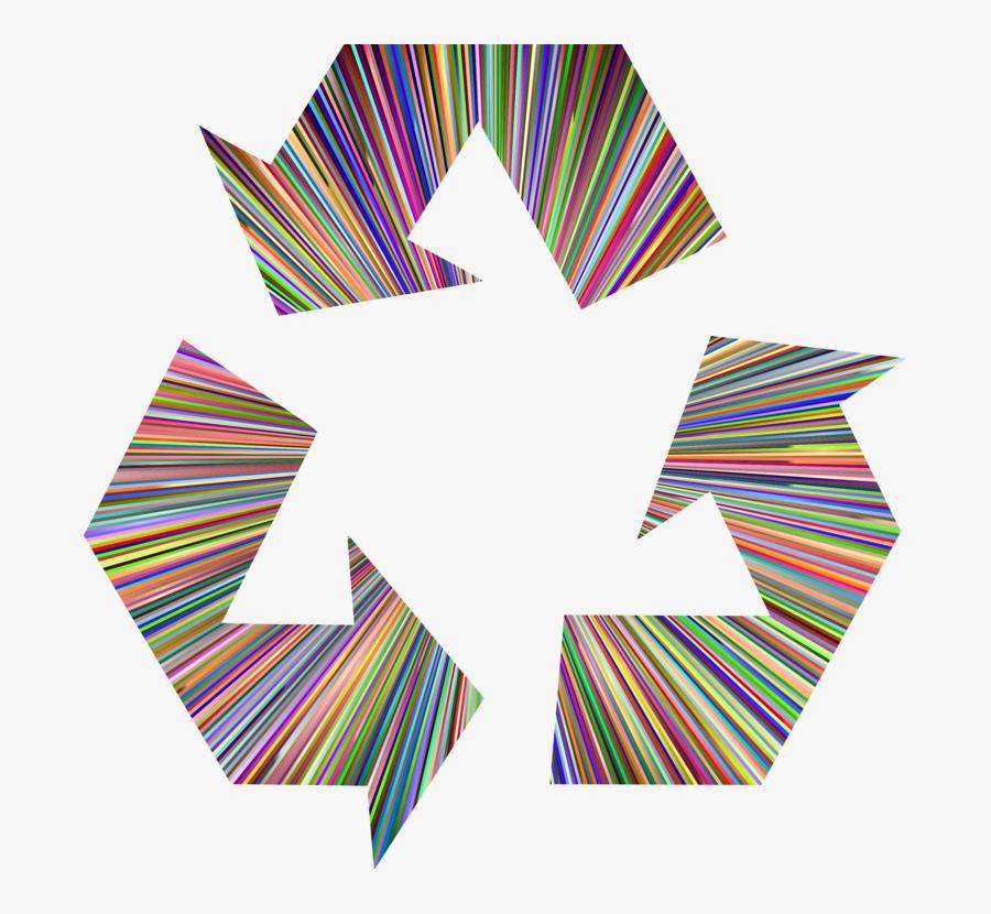 Construction Paper,angle,art Paper - Recycling Symbol, Transparent Clipart