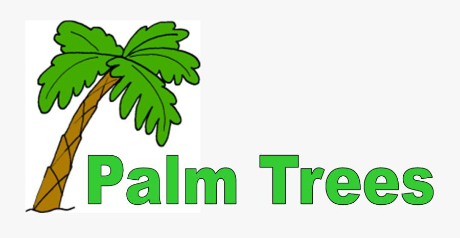 Transparent Plam Tree Png - Palm Tree Clip Art, Transparent Clipart