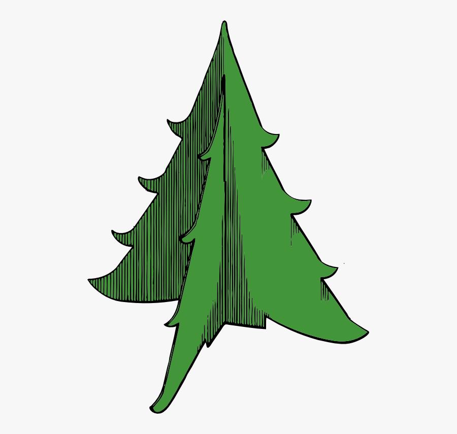 Transparent Christmas Tree Clip Art Black And White - Christmas Day, Transparent Clipart