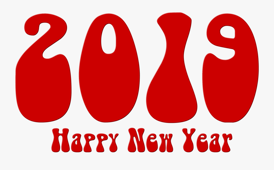 2019 Year Png Images Free Download - 2019 New Year Dachshund, Transparent Clipart