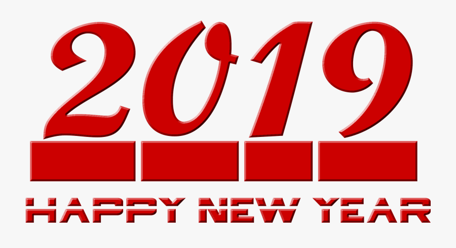 2019 Happy New Year Transparent Png - Graphic Design, Transparent Clipart