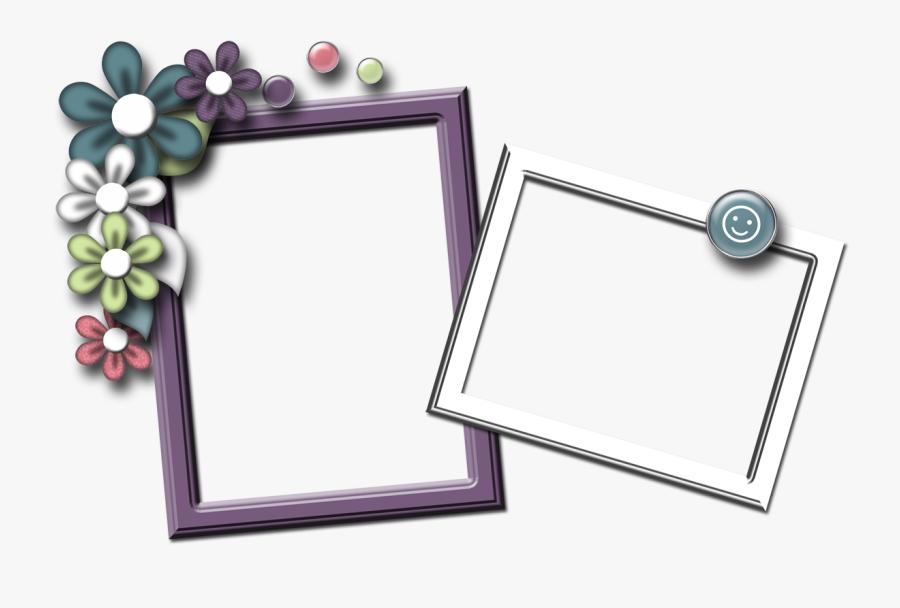 Transparent Spring Frame Clipart - Scrapbook Frame Free Download, Transparent Clipart