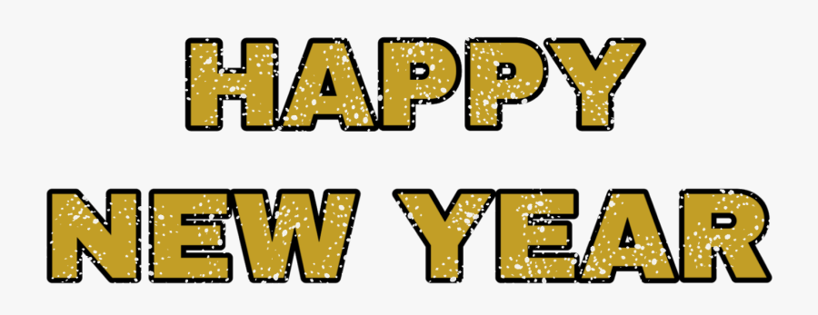 Transparent Happy New Year Png, Transparent Clipart