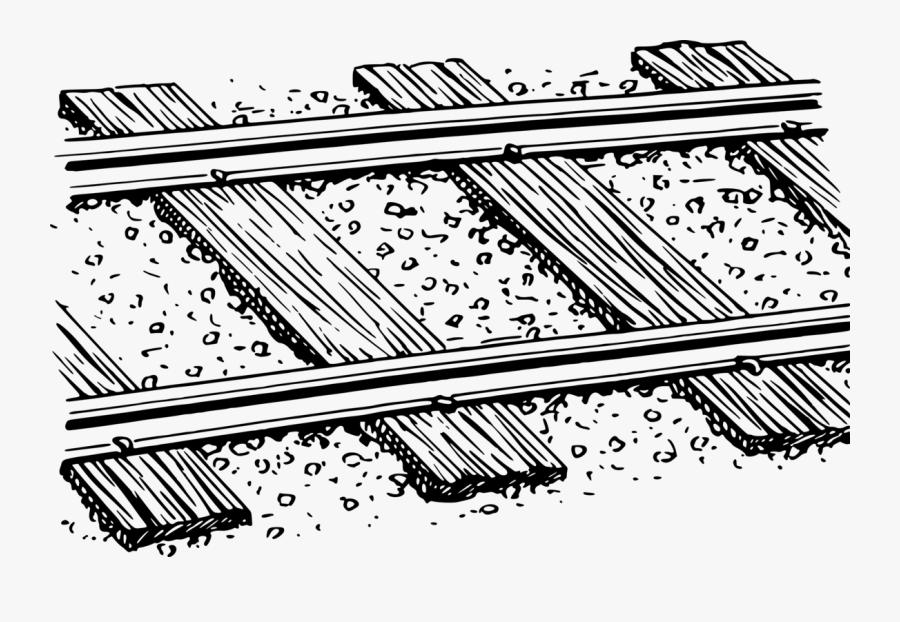 Rail Track Clip Art