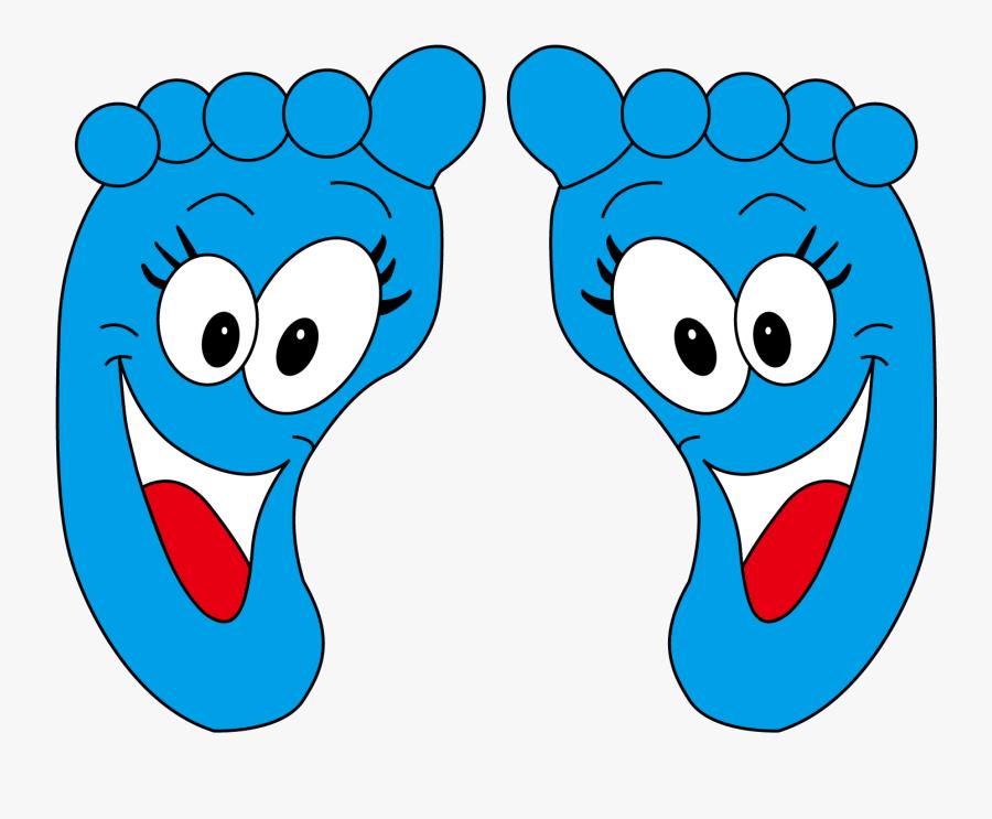 Clip Art Animation Foot Cute Transprent - Feet Animation, Transparent Clipart