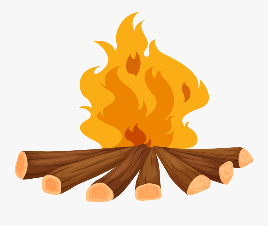 Firewood Clipart Camp Fire - Causes Of Fire Clipart, Transparent Clipart