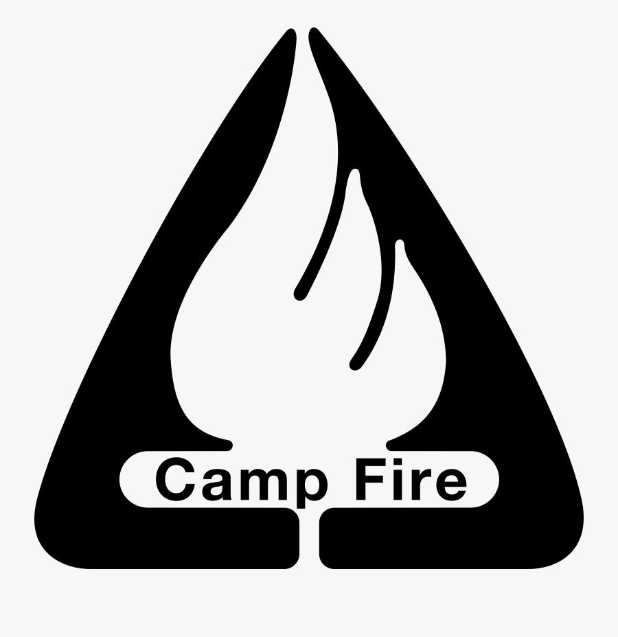 Camp Fire Logo Png Transparent - Camp Fire Logo, Transparent Clipart