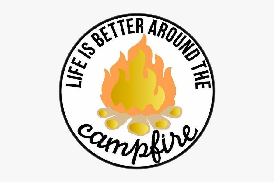#camp #camping #fire #smores, Transparent Clipart