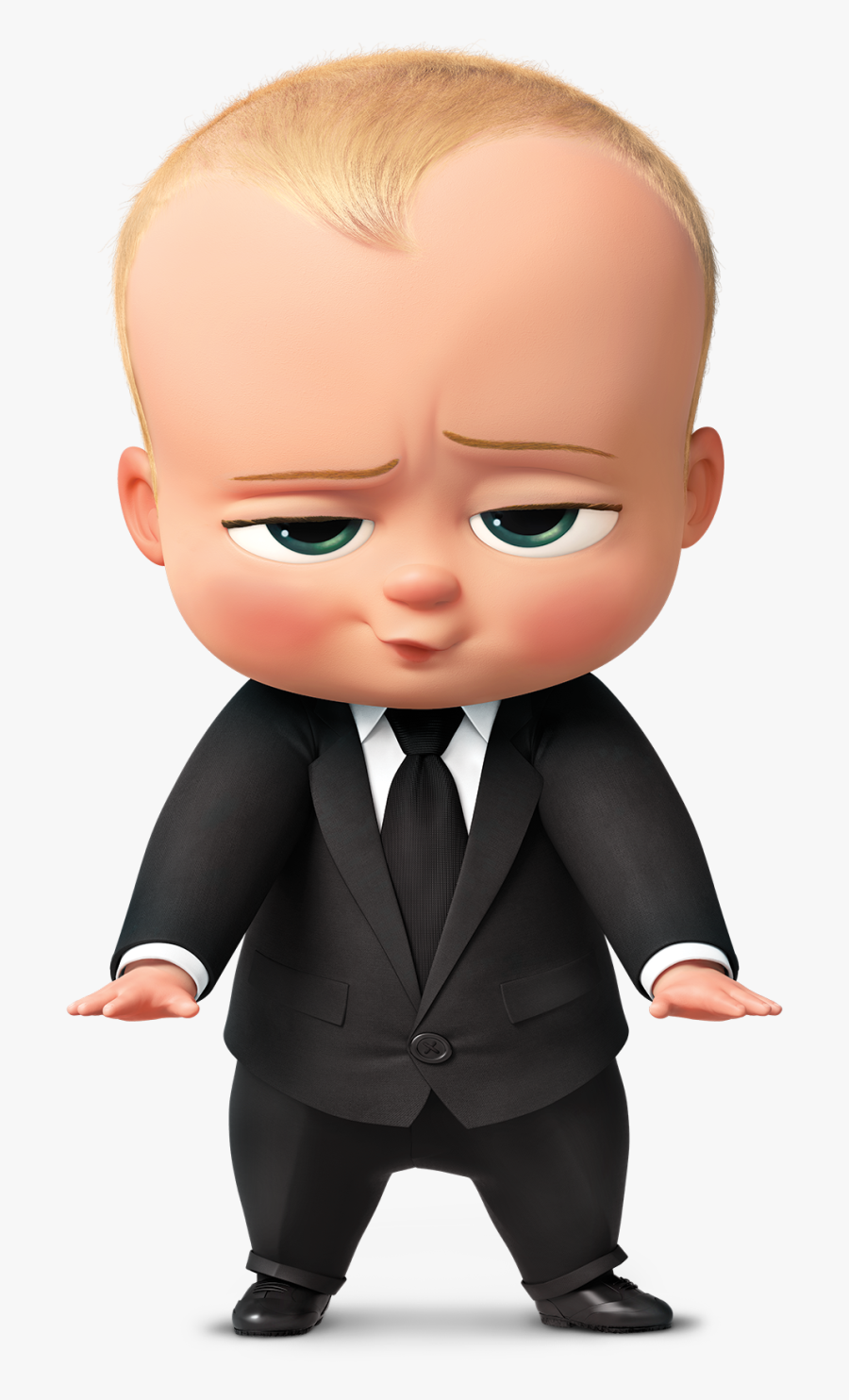 Infant Boss Diaper Child Baby The Clipart - Characters In Boss Baby, Transparent Clipart