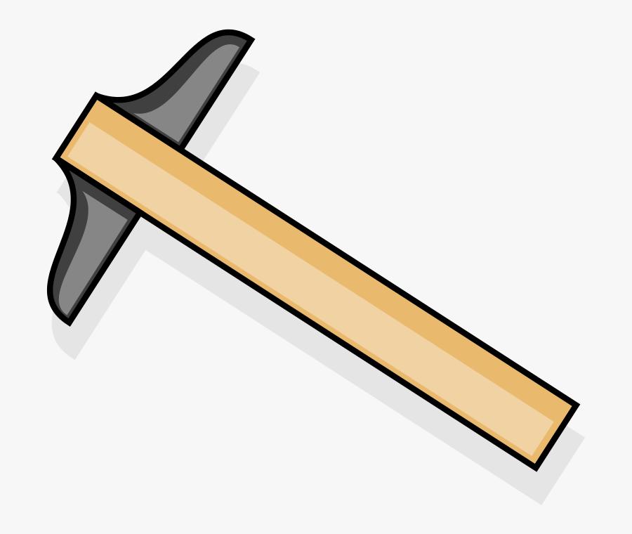 T-square - Clipart T Square Ruler, Transparent Clipart